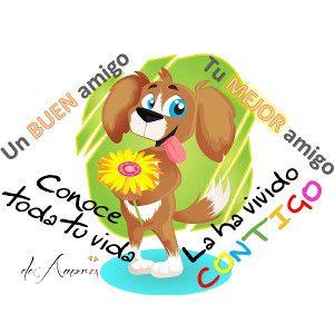 Imagenes de amor para whatsapp - Un buen amigo conoce toda tu vida - Tu MEJOR amigo la ha vivido CONTIGO deAmor.es