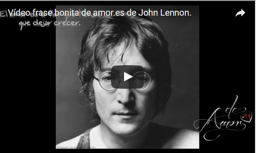 Frases con mensajes de amor de John Lennon