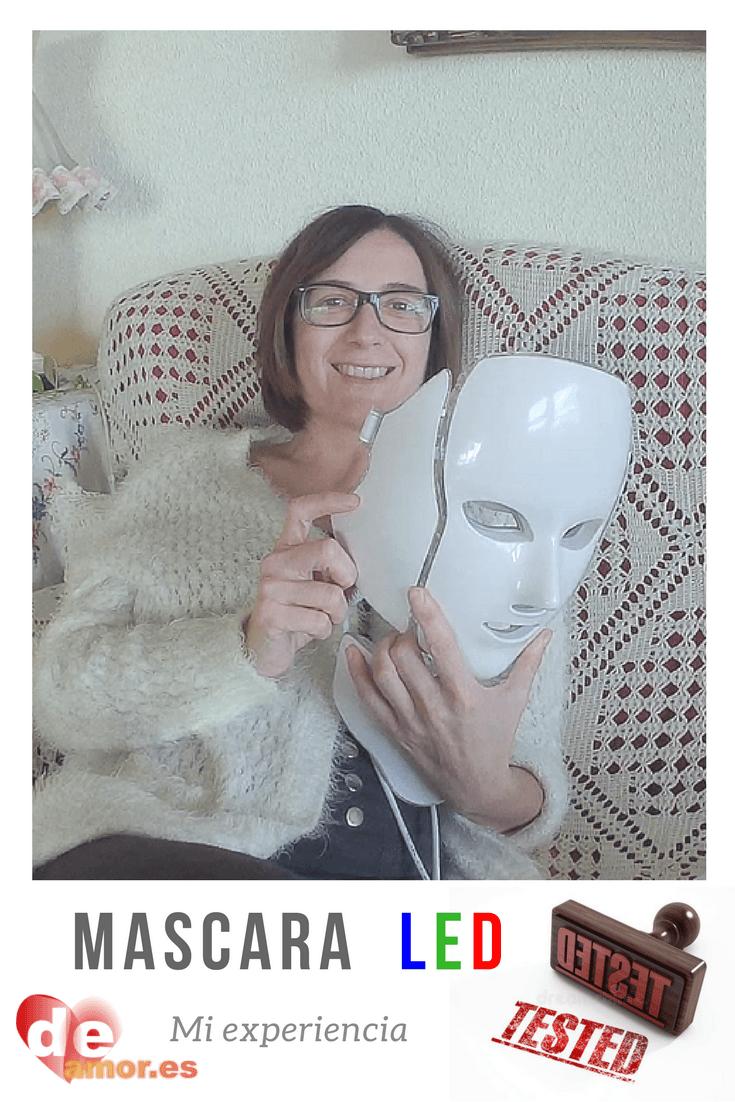 Mi experiencia mascara facial LED