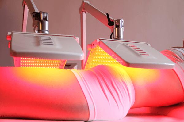 Terapia de luz roja para la piel belleza