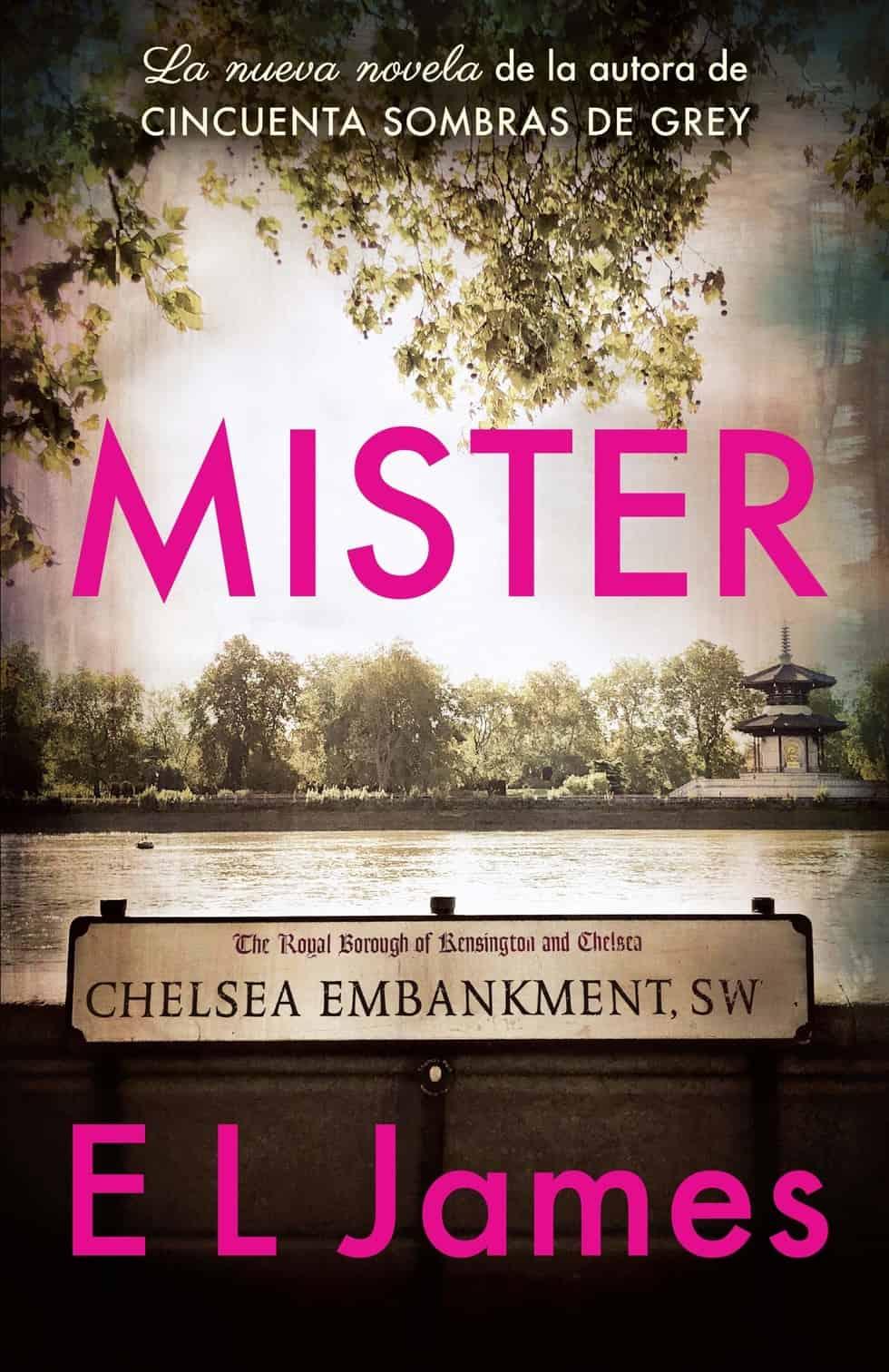 Literatura erótica - Mister - E.L. James -