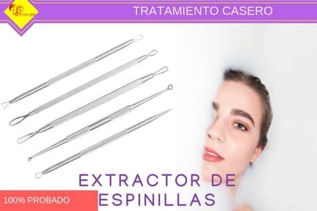 Tratamiento-casero-con-extractor-de-espinillas | limpieza facial casera