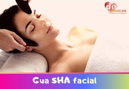 Gua Sha facial piedra jade cuarzo rosa