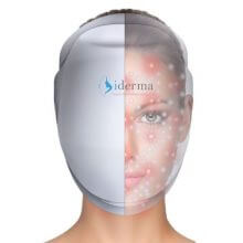 mascara led facial - iderma